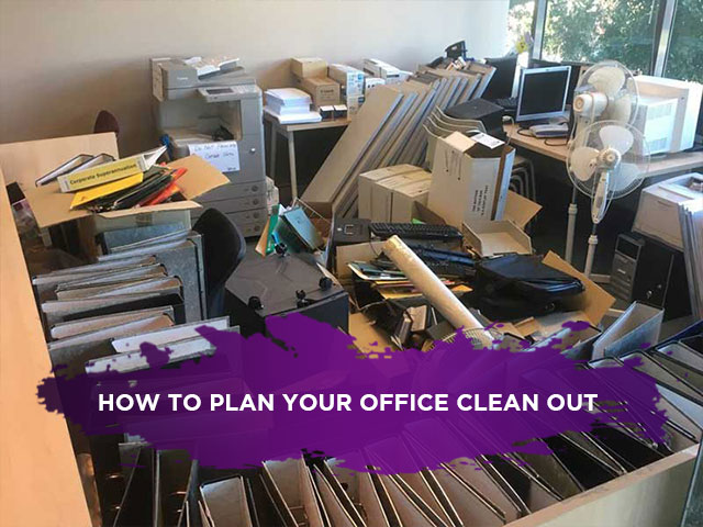 How to Plan Your Office Clean Out
