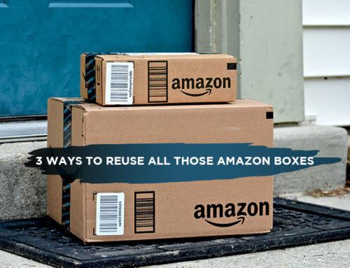 3 Ways to Reuse All Those Amazon Boxes