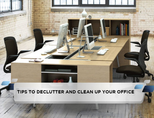 Tips to Declutter and Clean up Your Office