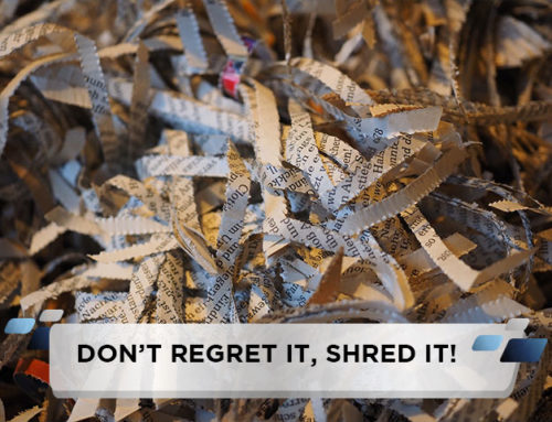 Don't Regret it, Shred it!