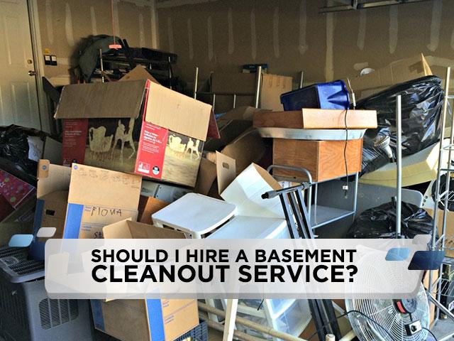 Should I Hire a Basement Cleanout Service?